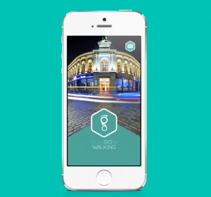 <span>Active Travel – Walking app</span><i></i>
